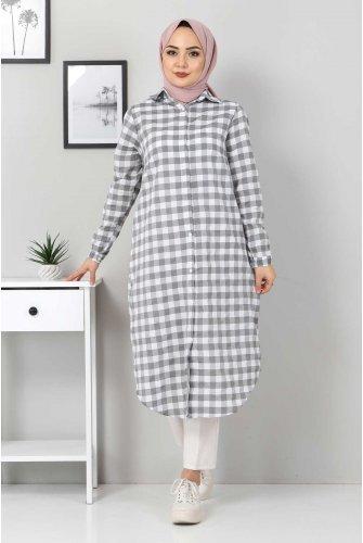 Ekoseli Tunics TSD3309 Grey
