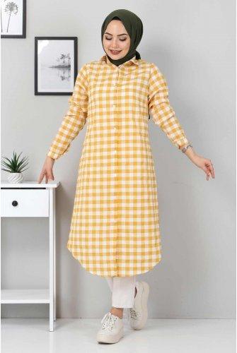 Ekoseli Tunics TSD3309 Mustard