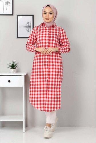 Ekoseli Tunics TSD3309 Red