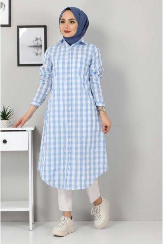 Ekoseli Tunics TSD3309 Blue