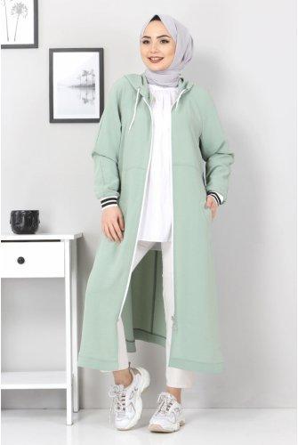 Zipped Ayrobin Women-Jackets TSD21917 Mint
