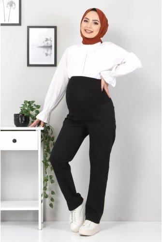 Pregnant Jeans Pantolonu TSD22052 Black