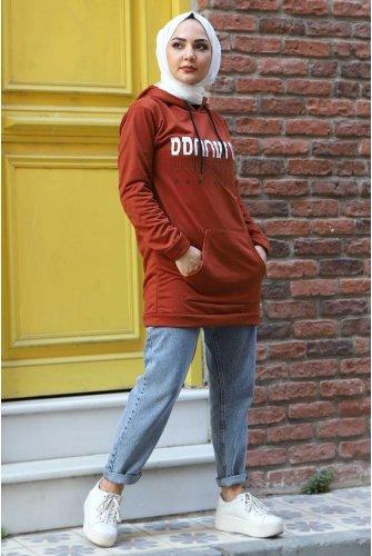 Hooded Sweatshirt TSD3318 Tile
