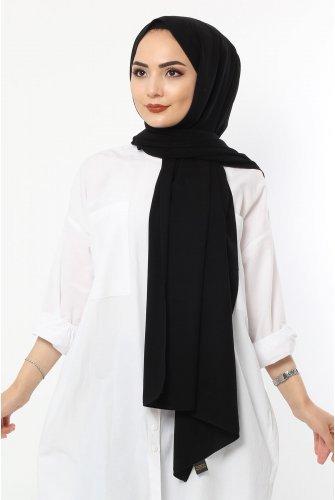 Almadina Silk Wrap S001 Black