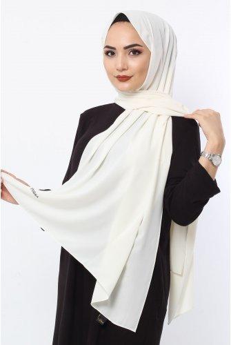 Almadina Silk Wrap S001 Ekru