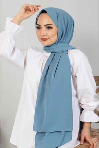 Almadina Silk Wrap S001 Blue