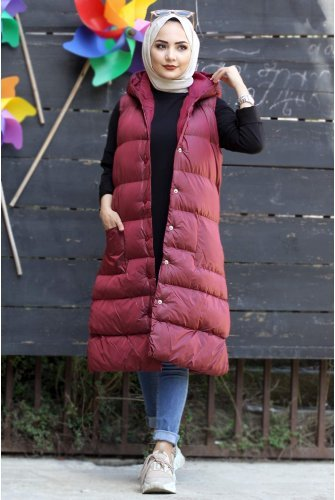 Snap Inflatable Vest TSD1524 Claret Red