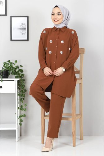 stony Binary Suit TSD2522 Brown