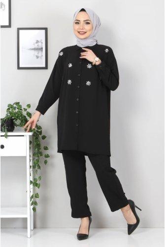 stony Binary Suit TSD2522 Black