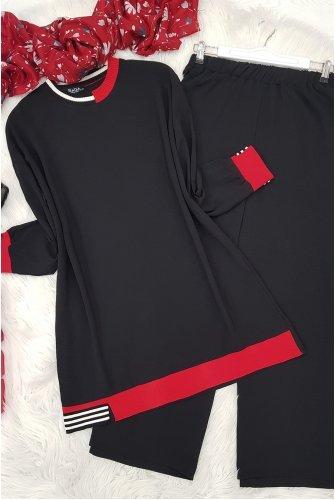 Bicycle Collar Ayrobin Suit -Black