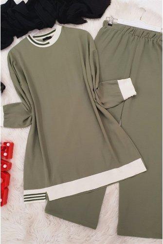 Bicycle Collar Ayrobin Suit -Green