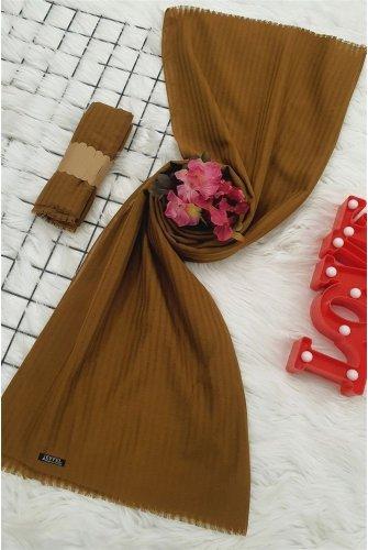 Striped Cotton Wrap -Taba