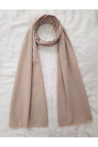 Flat Cotton Wrap          -Beige