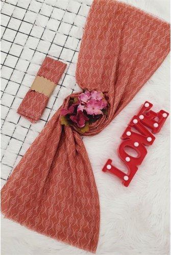 İnce Viscose Wrap -Hot pink