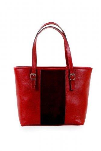 Red Velvet Stripe Arm bag
