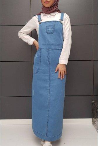 Jeans Slopet -Blue