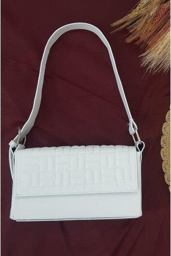 Box Kadın Bag -White