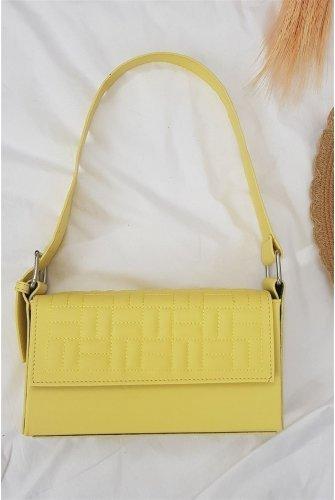 Box Kadın Bag -Yellow