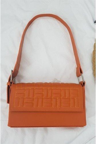 Box Kadın Bag -Orange