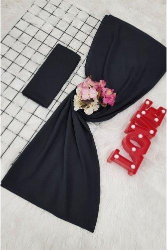 Yalın Silk Wrap  -Black