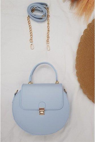Round Kadın Bag -Blue