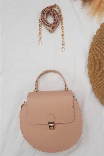 Round Kadın Bag -Light Pink