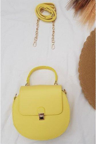 Round Kadın Bag -Yellow