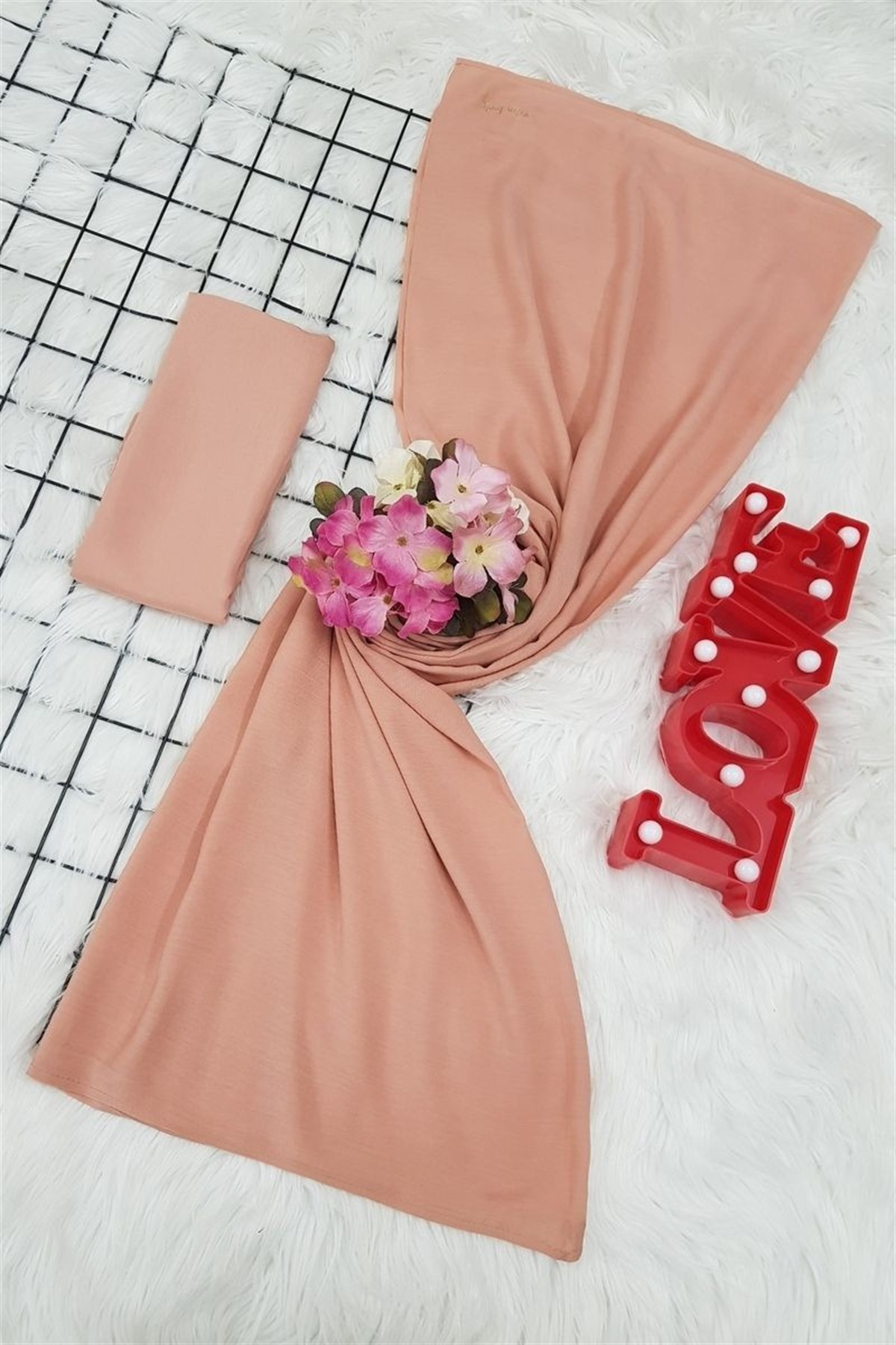 jilbab pastel